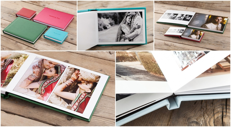 Contemporary Wedding Albums