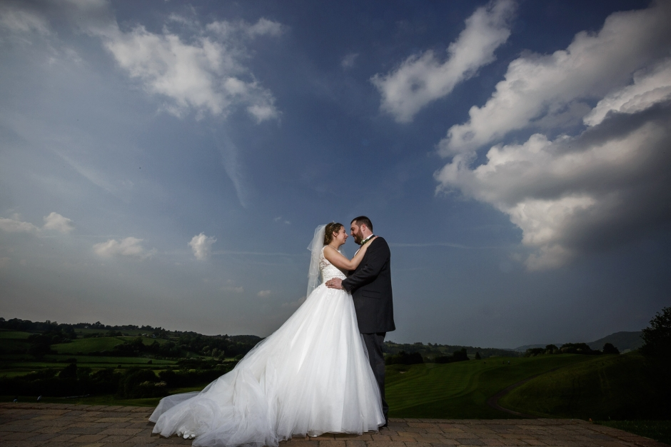 Wedding Couple at Celtic Manor South Wales Wedding photography