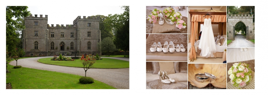 Clearwell Castle Wedding Photography venue & details