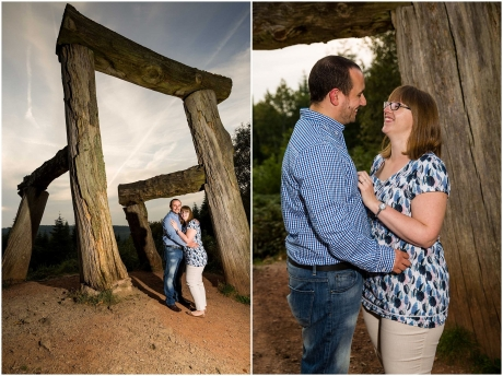 Forest of Dean Engagement Shoot Next To The Chair