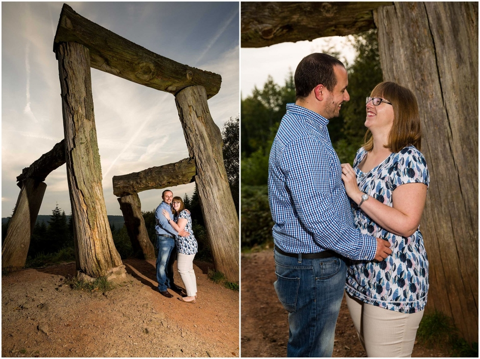 Forest of Dean Engagement Shoot Next To The Giant