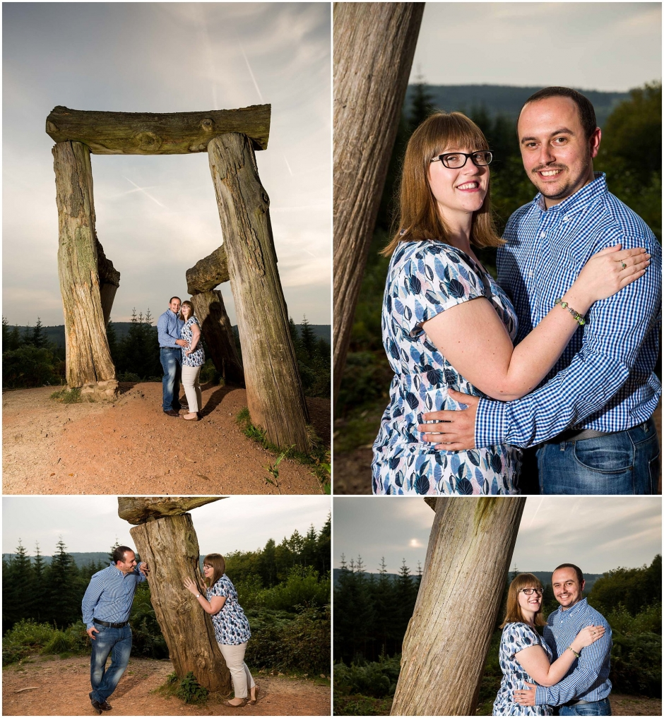 Forest of Dean Engagement Shoot Featuring The Giant