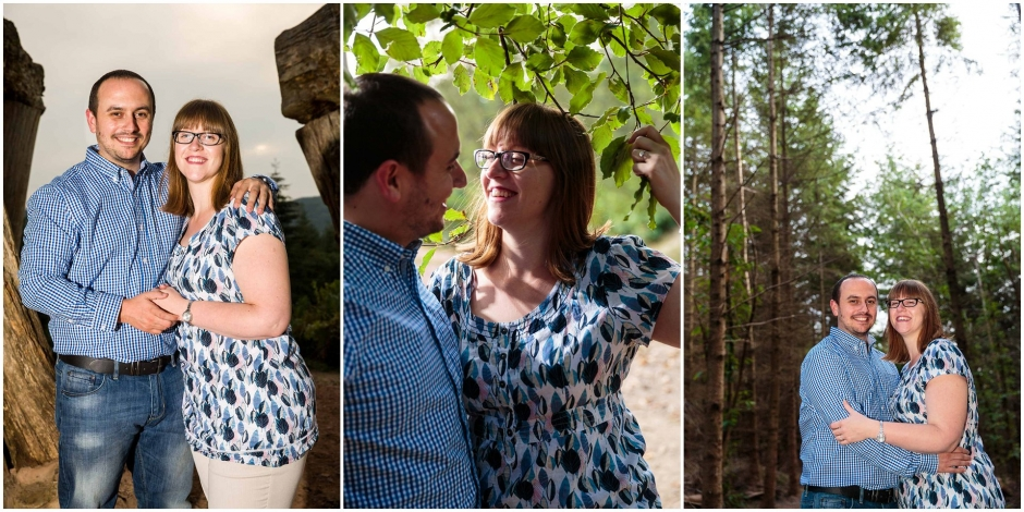 Forest of Dean Engagement Shoot with Lianne & Paul