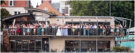 RIverstation Bristol Wedding Photography Group Shot